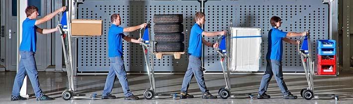 Betriebshilfsmittel zum Heben und Transportieren in der Produktion - Im Bild: Unikar