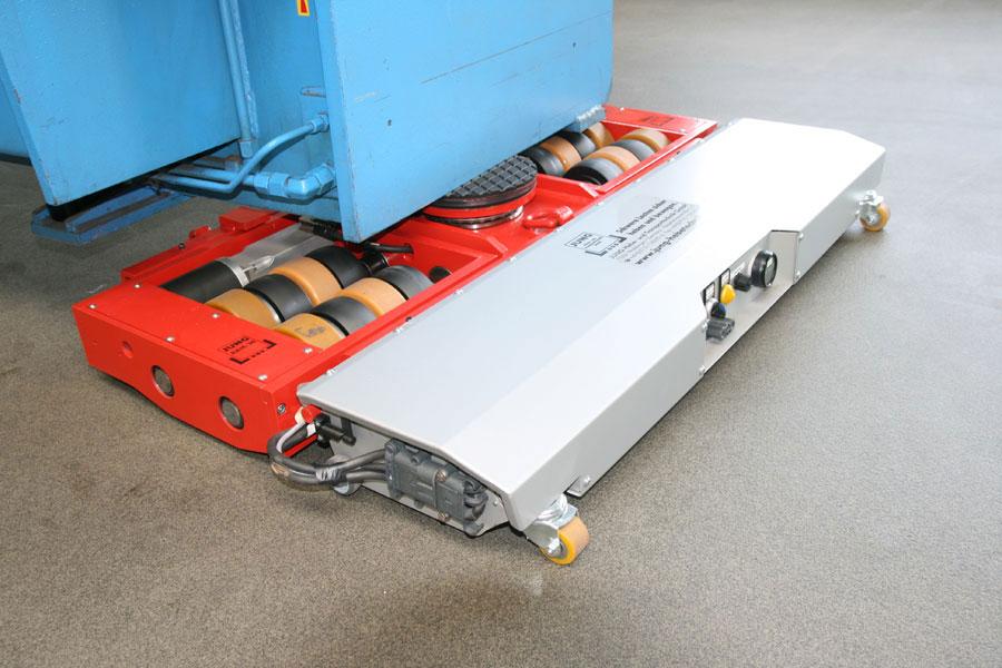 Elektrisch angetriebenes Fahrwerk JLAe_2 im Einsatz