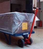 Hebelroller und Rollplatten im Einsatz