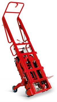 Der Treppenrobotter Kletterkulli Cu 606 transportiert auf Treppen bis zu 600kg.