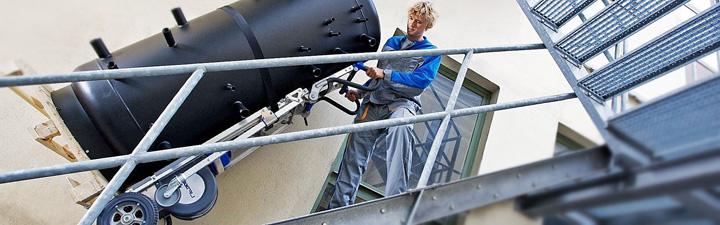 Mit den Treppensteiger der Iselin AG stellen Treppen kein Hindernis dar
