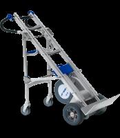 Der Treppensteiger Liftkar HD Dolly ist ein HD Universal Model mit Stützrädern - für lange Wege