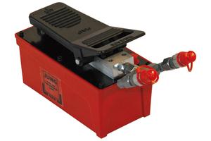 Lufthydraulische Pumpe JPL 15 für 1-2 hydraulische Hebegeräte.