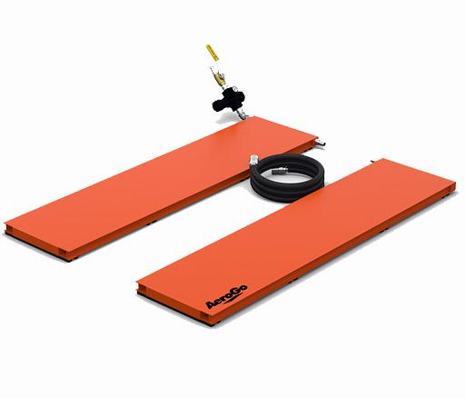 Aero Plank Systeme aus mehrerern Castern