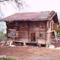 Gebäude Fundament anheben bzw Konstruktion anheben