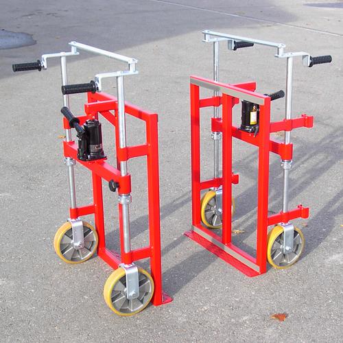 Transportgeräte und Hebegeräte wie das Hydratransporter BiMobil